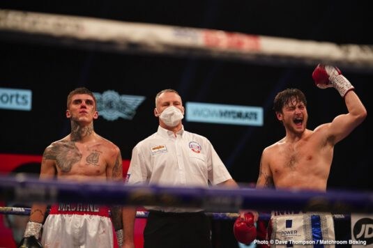 Conor Benn, Josh Kelly, Sebastian Formella - Conor Benn picked up his best career-win on Saturday night in defeating Sebastian Formella, and he now wants to face welterweight contender Josh Kelly next.
