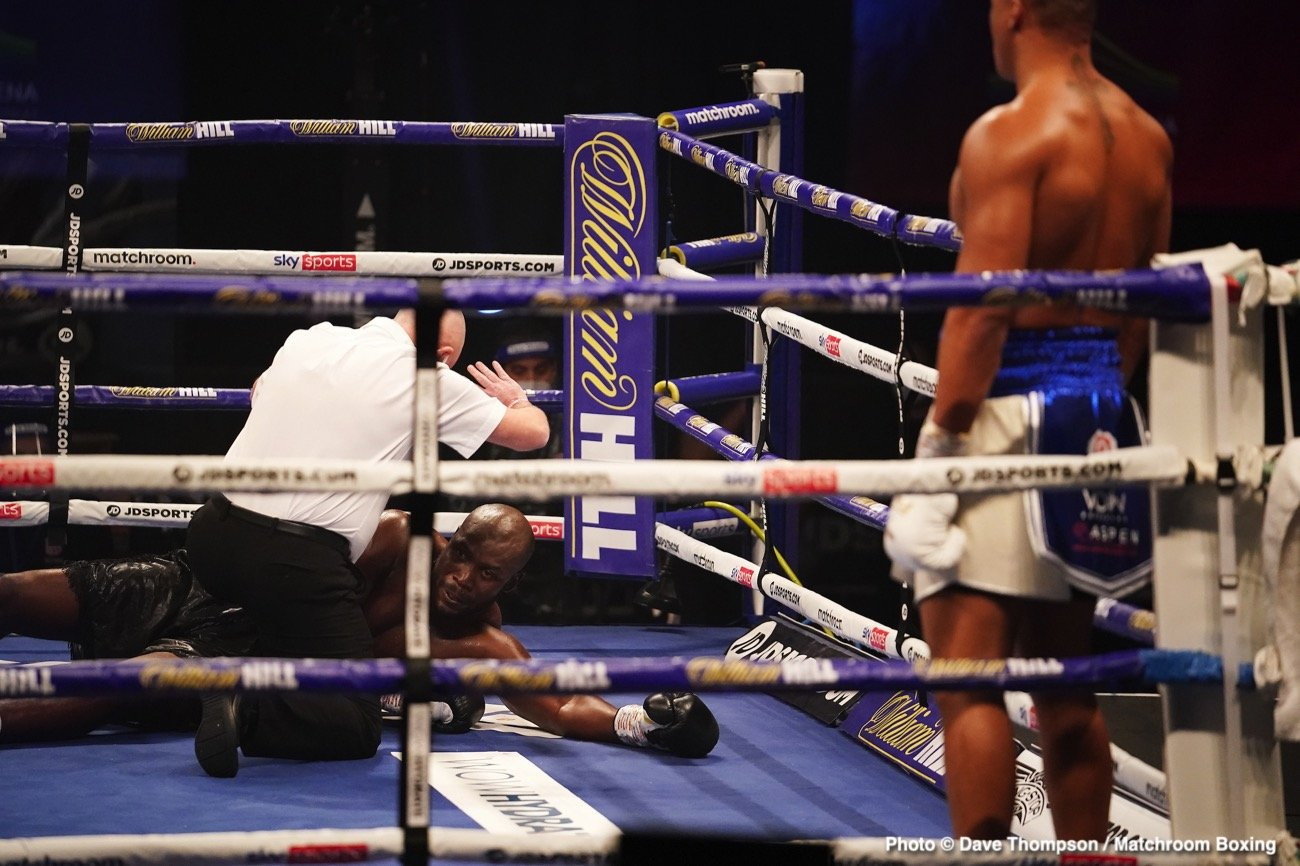 Alexander Povetkin, Dillian Whyte, Eric Molina, Fabio Wardley - Boxing News