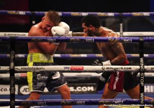 Conor Benn, Sebastian Formella - Welterweight fringe contender Conor Benn (17-0, 11 KOs) defeated (22-2, 10 KOs) by a 10 round unanimous decision on Saturday night at the Wembley Arena in London, UK. Benn, 24, used his superior strength to batter Formella from the opening bell.