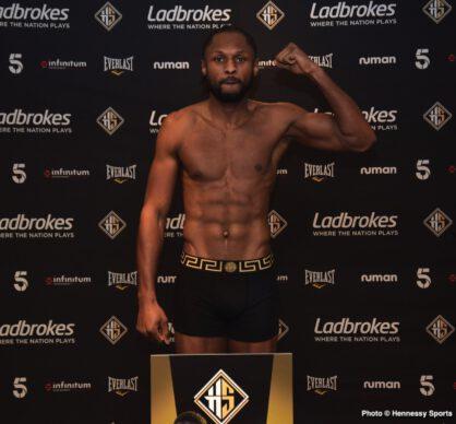 Craig Richards, Shakan Pitters - British Boxing