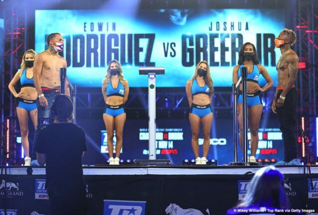 Andrew Moloney, Elvis Rodriguez, Joshua Franco, Joshua Greer, Terence Crawford - Boxing News