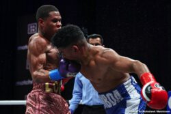 Devin Haney, Yuriorkis Gamboa -  Devin Haney (25-0, 15 KOs) did his best but he had to settle for a 12 round unanimous decision on Saturday night in defending his WBC 135-pound title against Yuriorkis Gamboa (30-4, 18 KOs). The fight took place at theSeminole Hard Rock Hotel & Casino in Hollywood, Florida.