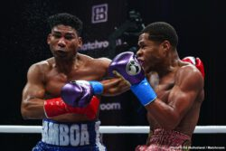 Devin Haney, Filip Hrgovic, Rydell Booker, Yuriorkis Gamboa, Zhilei Zhang - Devin Haney returned to action with a dominant defense of his WBC World Lightweight title against Yuriorkis Gamboa at Hard Rock Live at Seminole Hard Rock Hotel & Casino Hollywood, Florida, live on DAZN.