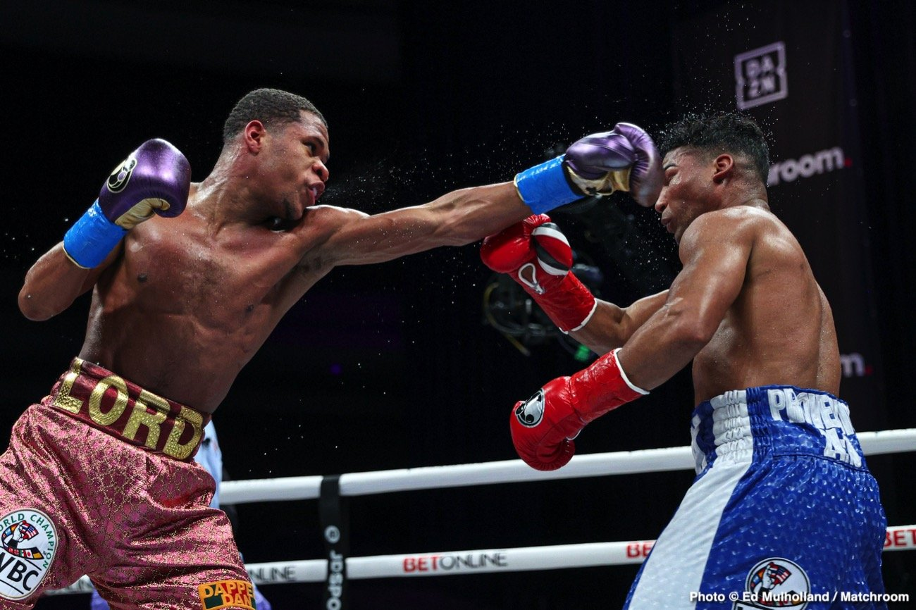 Devin Haney, Jorge Linares - Boxing News