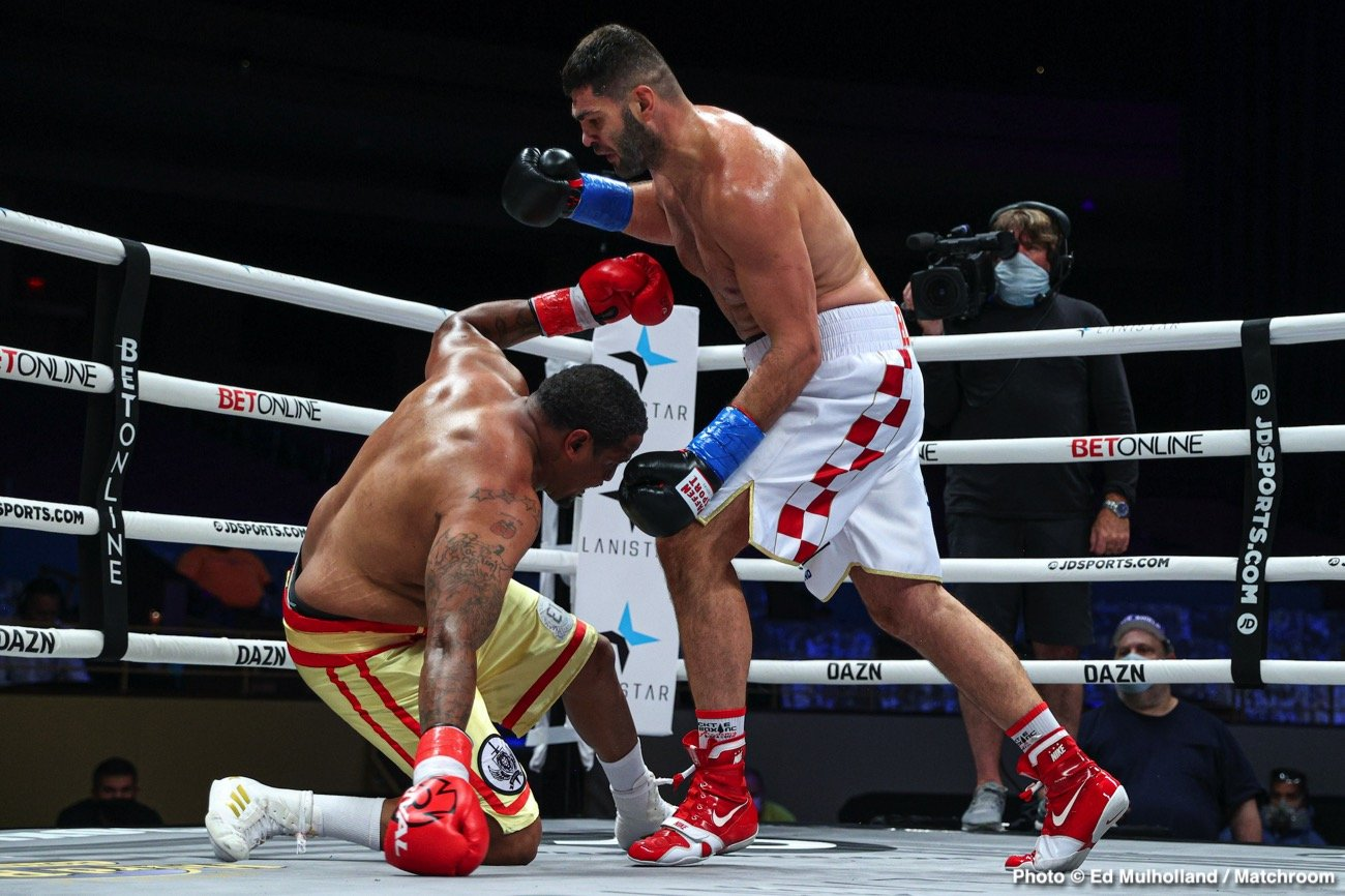 Filip Hrgovic, Rydell Booker - Boxing News