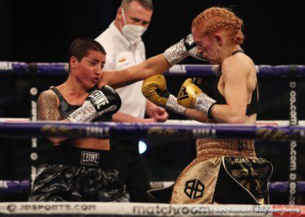 Katharina Thanderz, Katie Taylor, Miriam Gutiérrez, Terri Harper - Boxing News