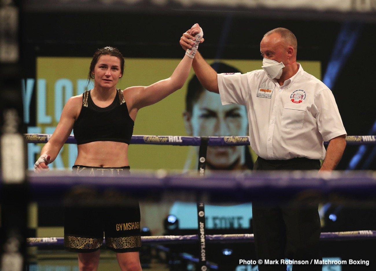 Katie Taylor, Miriam Gutiérrez - Katie Taylor's masterful Undisputed Lightweight World Title defense against Miriam Gutierrez at The SSE Arena, Wembley drew more than 2 million views across the United Kingdom and Ireland.