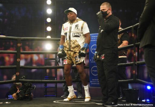 "Luis Ortiz - Luis Ortiz can still bang, we know that. But did we get anything other than this confirmation from last night's flash of a fight between Ortiz and Alexander Flores? No. It was a mismatch going in and, though Flores, 18-3-1(16) insists he ""saw black"" and was hurt by a shot to the eye before the body shot knockdown he suffered, nobody was satisfied. Ortiz, at age 41 (some say he is much older, perhaps even 50 years of age), has no time to waste on mismatches."