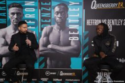 Denzel Bentley, Mark Heffron - British Boxing