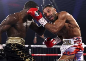 Kell Brook - Andre Ward sums up WBO welterweight champion Terence Crawford's win over Kell Brook last Saturday as one in which he got the job done, but it wasn't an all-around impressive performance from start to finish.