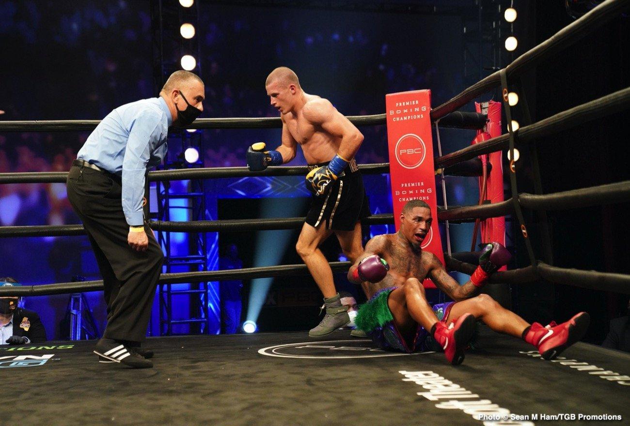 Eimantas Stanionis, Justin DeLoach - Boxing Results