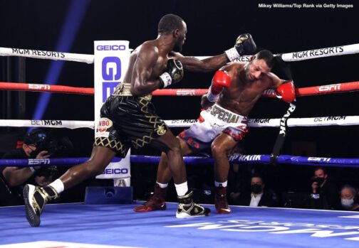 """Andrew Moloney, Joshua Franco, Kell Brook, Terence Crawford -  It ended in a flash, and once again, Terence """"Bud"""" Crawford let his fists do the talking. Crawford successfullydefended his WBO welterweight world title with a fourth-round TKO Saturday eveningover former welterweight world champion Kell Brook."""