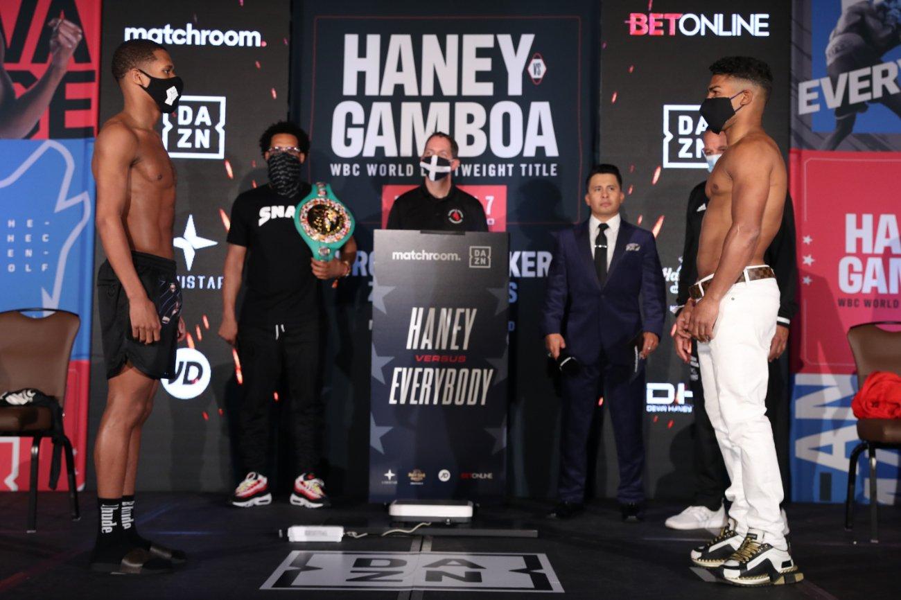 Devin Haney, Filip Hrgovic, Yuriorkis Gamboa, Zhilei Zhang - Boxing News