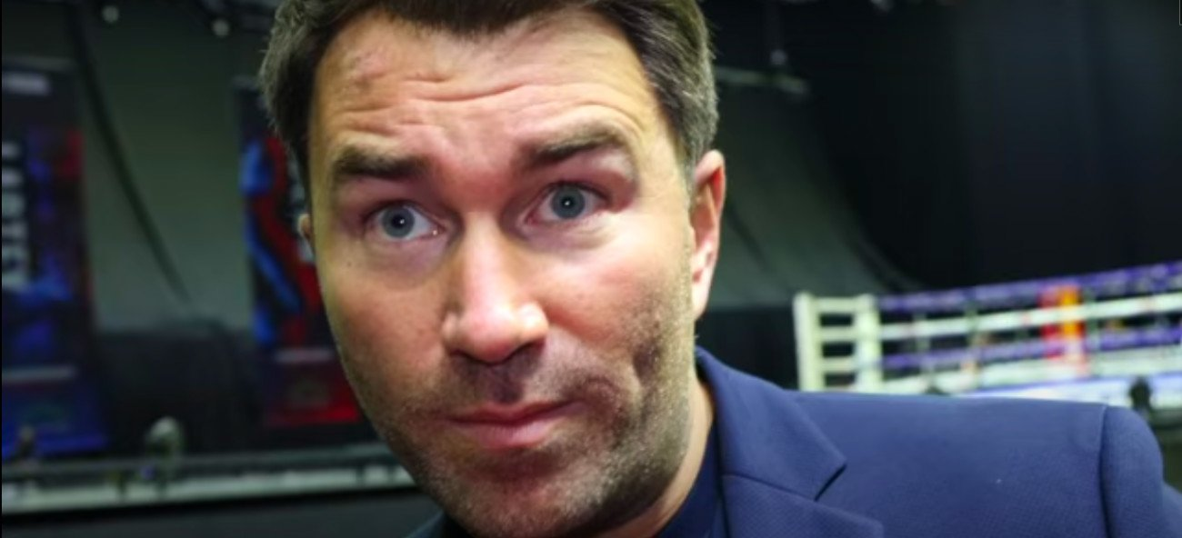Anthony Joshua, Eddie Hearn, Kubrat Pulev - A highly agitated Eddie Hearn is saying that the reason the pay-per-view price has remained the same £24.95 for the Anthony Joshua vs. Kubrat Pulev contest on December 12th as it was for AJ's last fight against Andy Ruiz Jr is that they won't have a crowd of 70,000 at Tottenham to watch it.