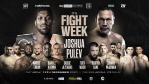 Anthony Joshua, Kieron Conway, Kubrat Pulev, Souleymane Cissoko - Press Room
