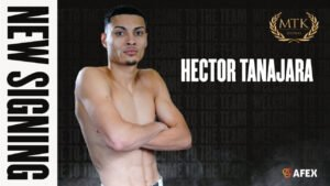 Hector Tanajara, Misael Rodriguez - Unbeaten Tanajara (19-0, 5 KOs) will be advised by MTK Global and managed by Rick Mirigian, becoming the latest US star to team up with the two parties following world champion signings Josh Franco and welterweight superstar Vergil Ortiz Jr over the past week.