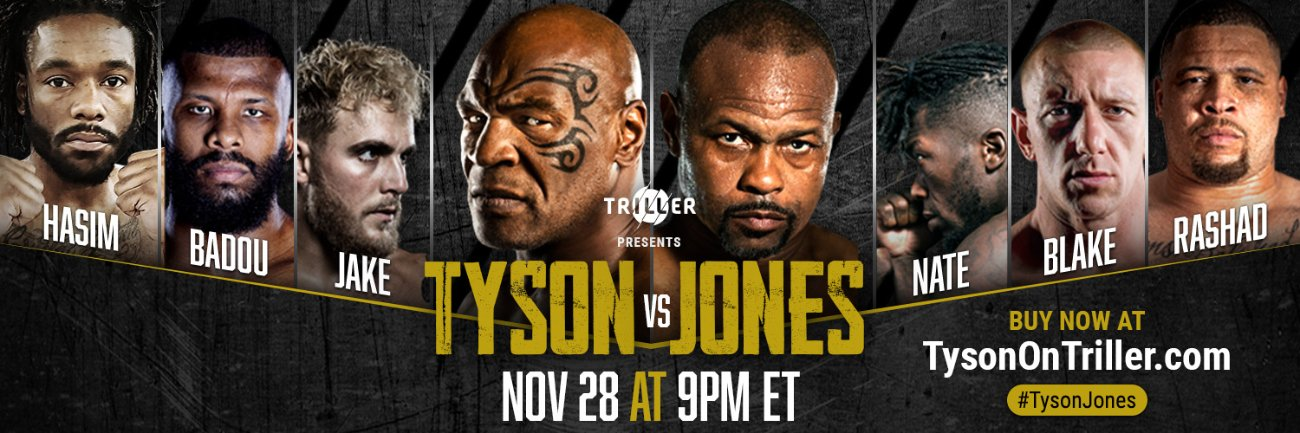 Mike Tyson, Roy Jones Jr., Zab Judah - Boxing News