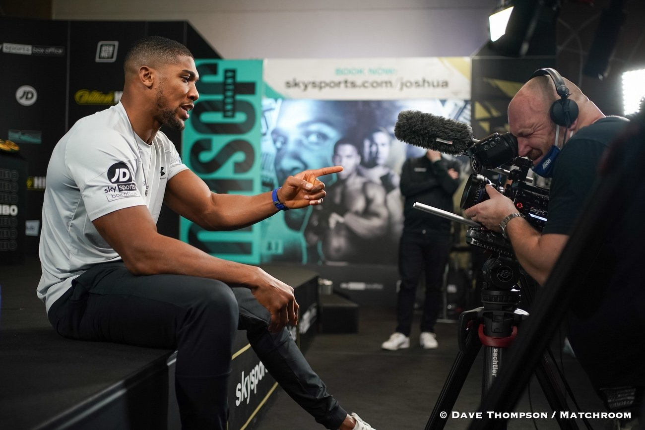Anthony Joshua, Mark Breland - Boxing News