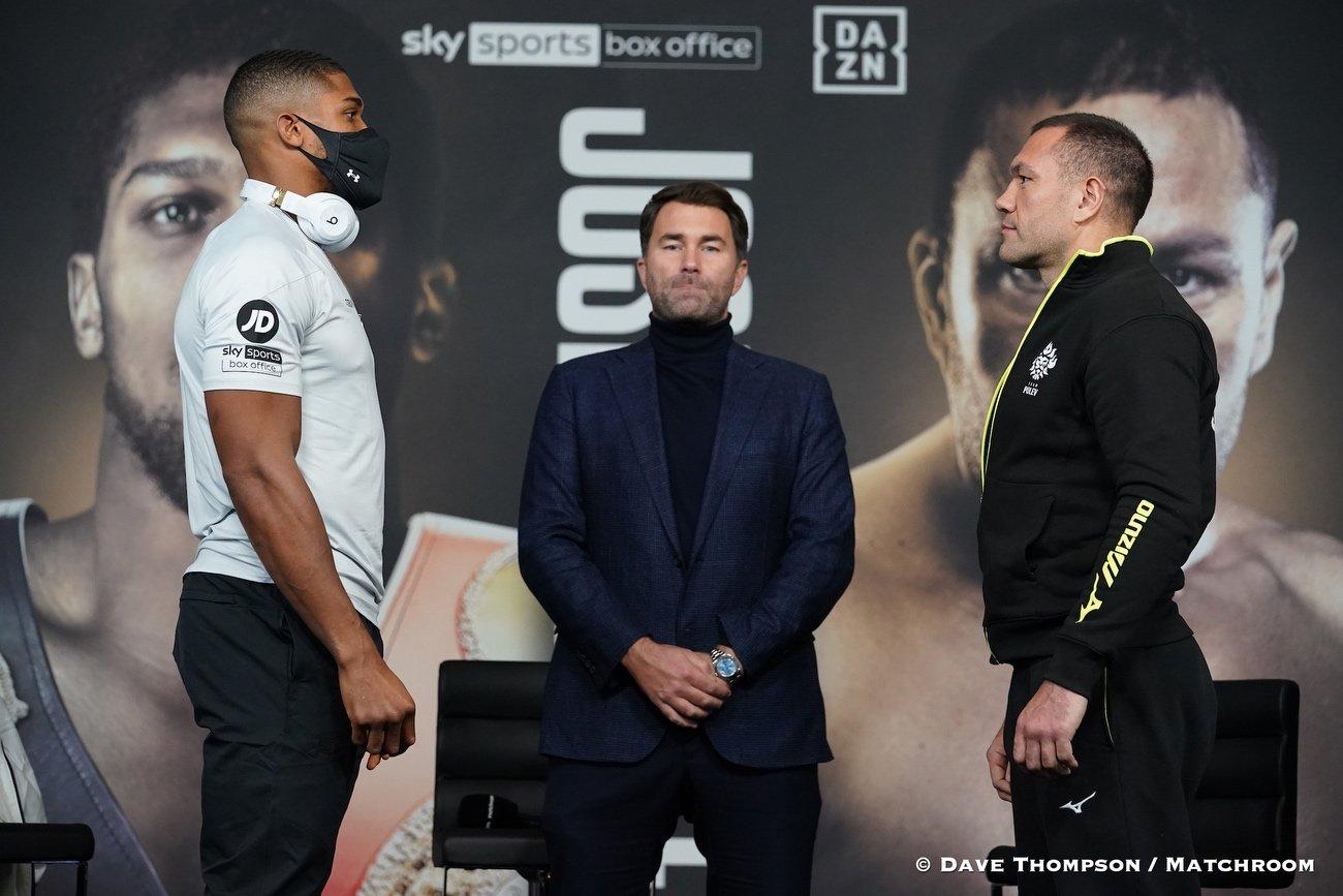 Anthony Joshua, Kubrat Pulev - Boxing News