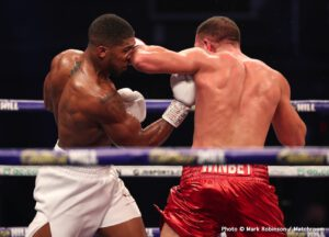 Anthony Joshua, Eddie Hearn, Tyson Fury - Boxing News
