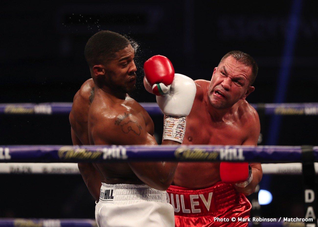 Anthony Joshua, Deontay Wilder, Eddie Hearn - Boxing News