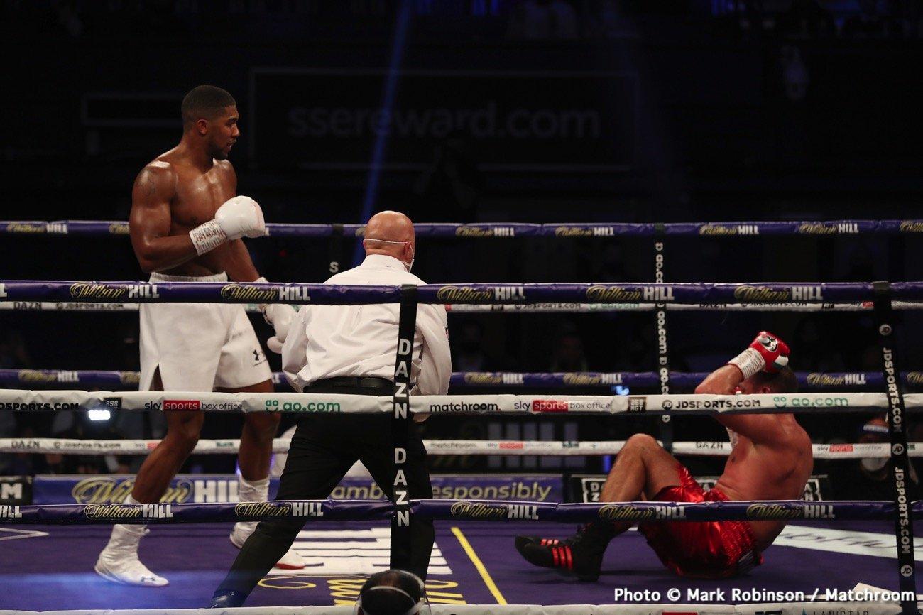Anthony Joshua, Chris Arreola, Tyson Fury - Boxing News
