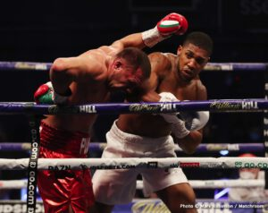 Joshua says Usyk poses no danger for him