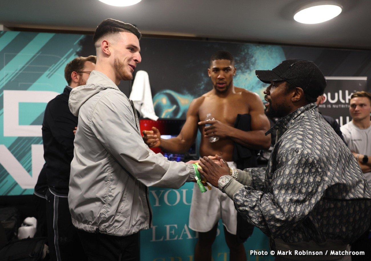 Eddie Hearn, John Fury, Tyson Fury - Boxing News