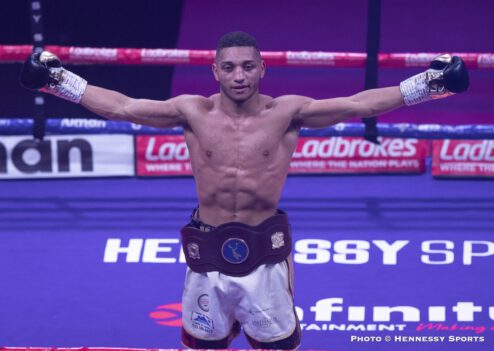 Ashley Theophane, Sam Eggington, Stephen McKenna - Boxing News