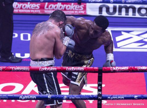 Ashley Theophane, Sam Eggington, Stephen McKenna - Boxing News