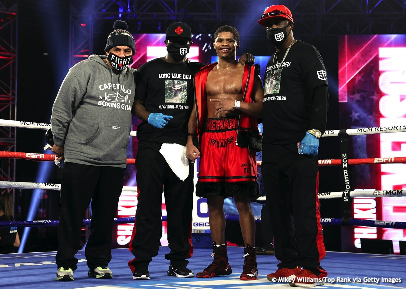 Bob Arum, Óscar Valdez, Shakur Stevenson - Boxing News