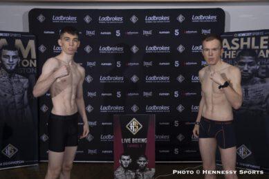 Ashley Theophane, Sam Eggington - British Boxing
