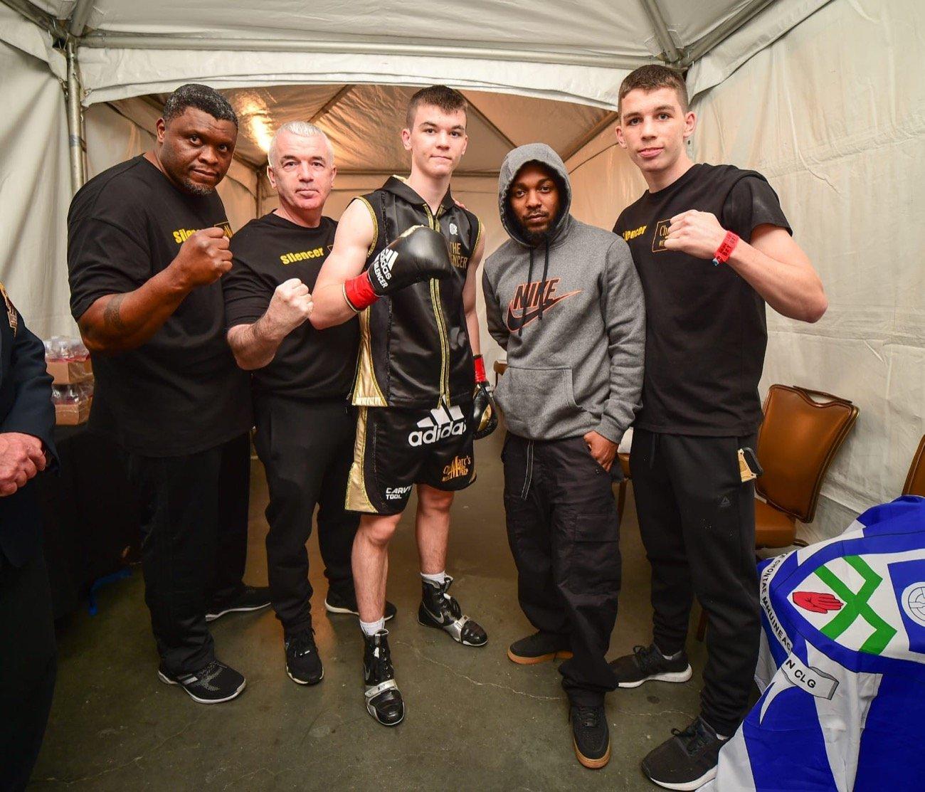 Aaron Mckenna - British Boxing
