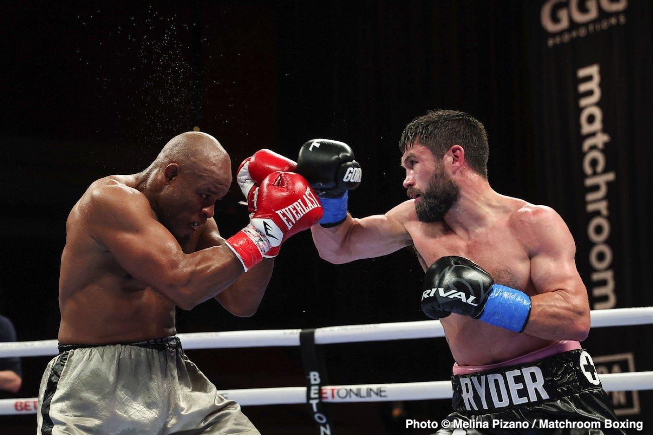 Billy Joe Saunders, Canelo Alvarez, John Ryder - Boxing News