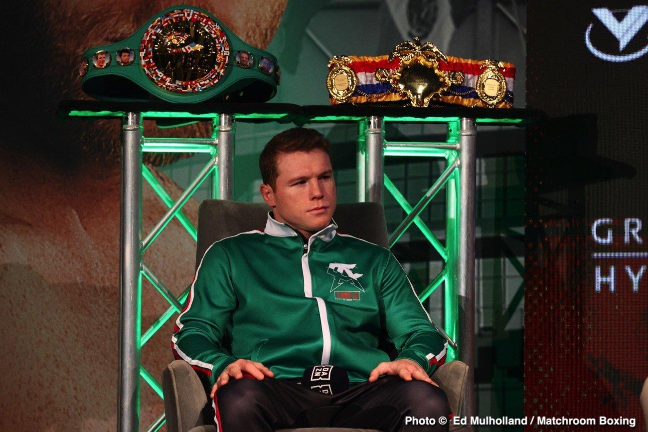 Avni Yildirim, Billy Joe Saunders, Canelo Alvarez, Eddie Hearn - Boxing News