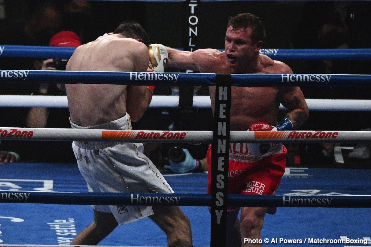 Callum Smith, Canelo Alvarez, Edgar Berlanga - Boxing News