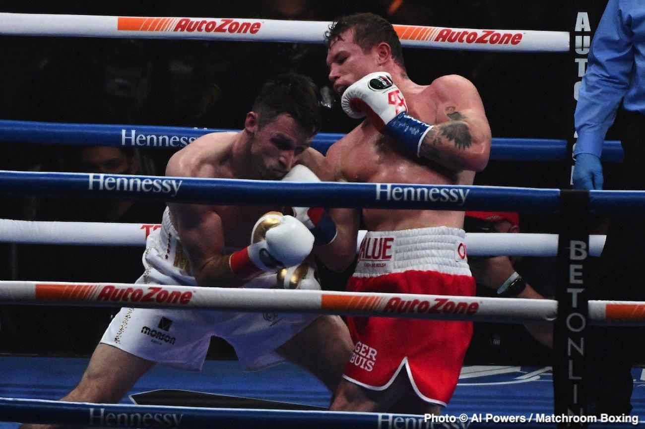 Billy Joe Saunders, Callum Smith, Canelo Alvarez, Eddie Hearn, Gennadiy Golovkin - Boxing News