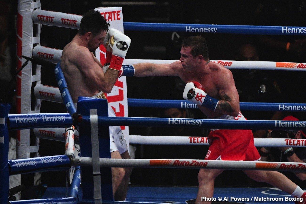Bob Arum, Canelo Alvarez, Edgar Berlanga - Boxing News
