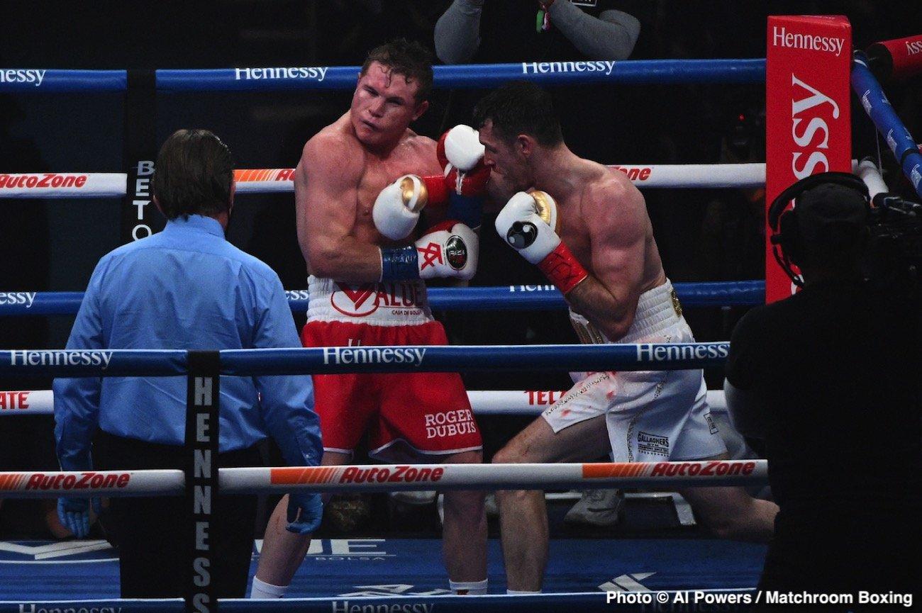 Canelo Alvarez, Errol Spence Jr., Terence Crawford, Tim Bradley - Boxing News