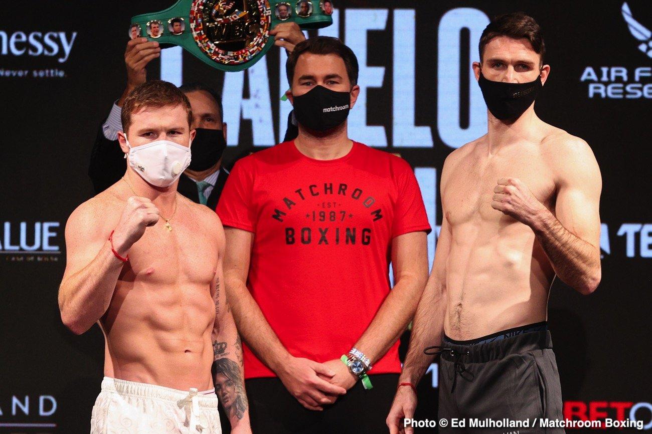 Callum Smith, Canelo Alvarez - Actualités de boxe