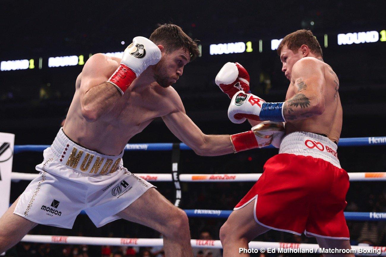 Callum Smith, Canelo Alvarez, Demetrius Andrade, Joe Calzaghe - Boxing News