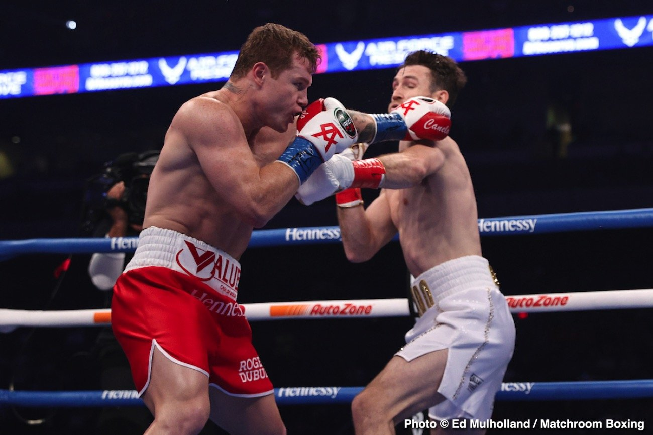 Billy Joe Saunders, Canelo Alvarez, David Benavidez, Gennadiy Golovkin - Boxing News