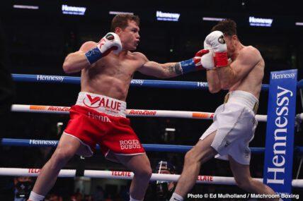 Callum Smith, Canelo Alvarez - Boxing News
