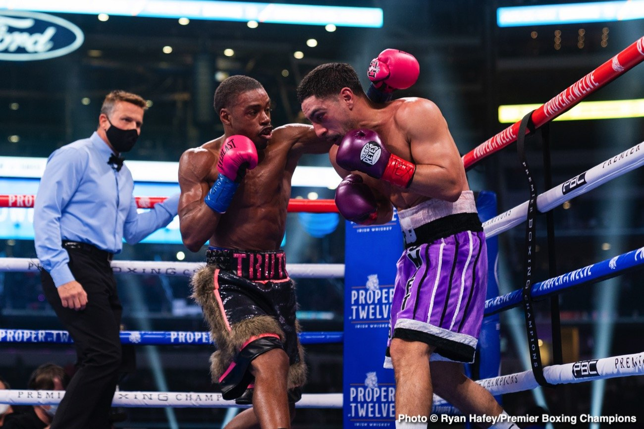 Errol Spence, Keith Thurman, Manny Pacquiao - Boxing News