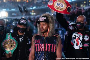 Errol Spence won't wait long for Terence Crawford fight