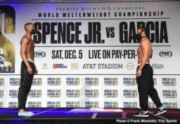 Danny Garcia, Errol Spence, Francisco Santana, Josesito Lopez - Boxing News