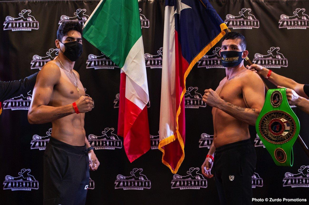 Alfonso Lopez, Gilberto Ramirez - Boxing Interviews