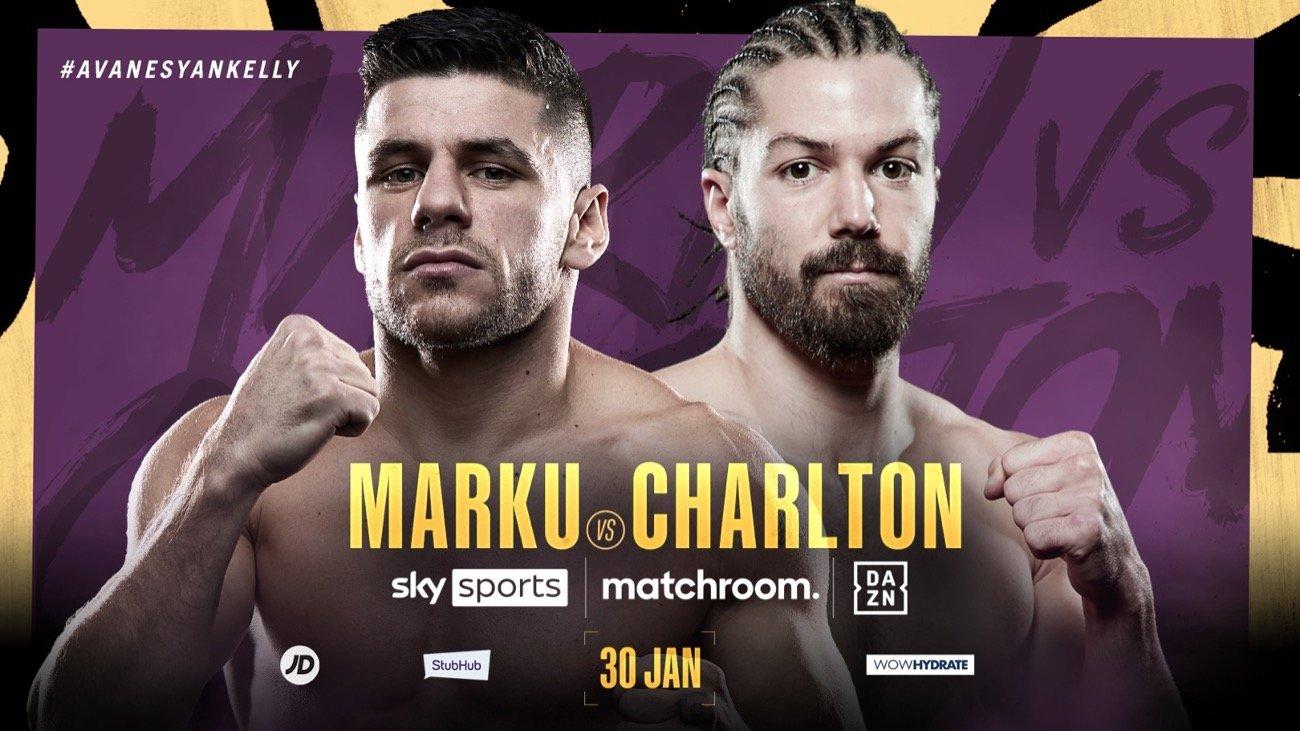 Florian Marku, Rylan Charlton - British Boxing