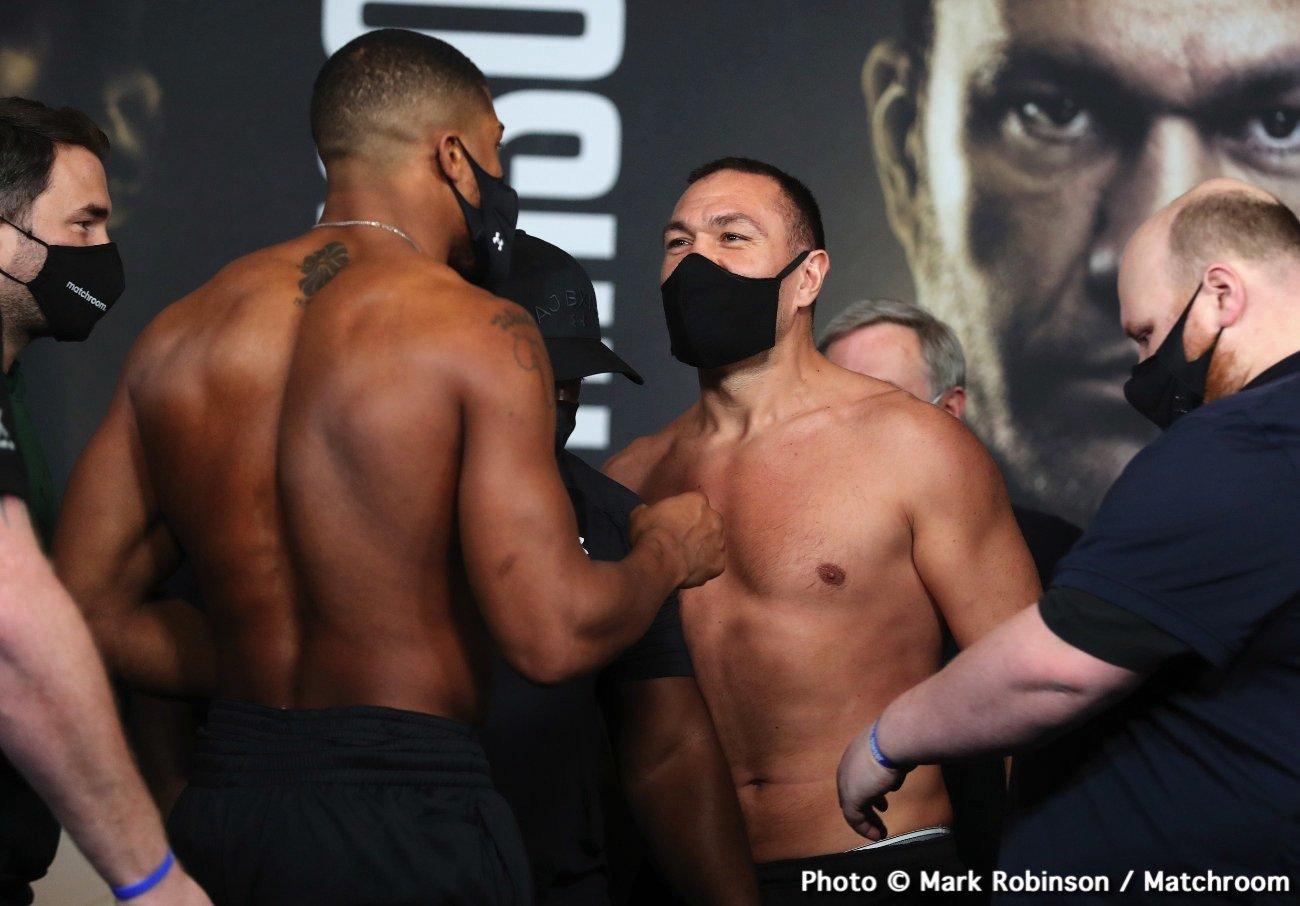 Anthony Joshua, Kubrat Pulev, Tyson Fury - Boxing News