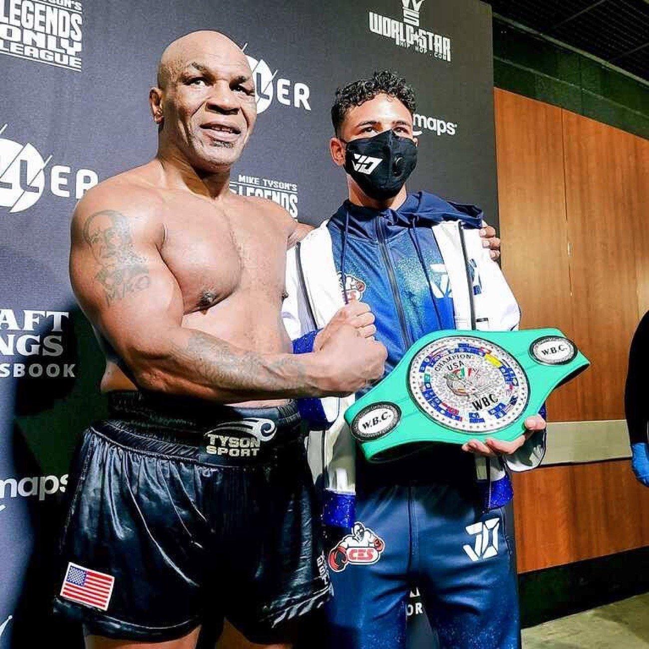 Lennox Lewis, Mike Tyson - Boxing News